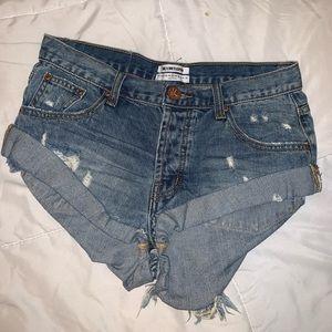One teaspoon bandits shorts